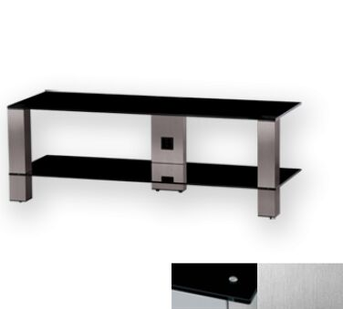 Sonorous PL3410BINX - Meuble pour ecran Plasma/LCD en verre et aluminium