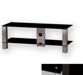 Sonorous PL3410BHBLK - Meuble pour ecran Plasma/LCD en verre et aluminium