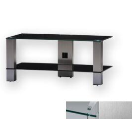 Sonorous PL3415CINX - Meuble pour ecran Plasma/LCD en verre et aluminium