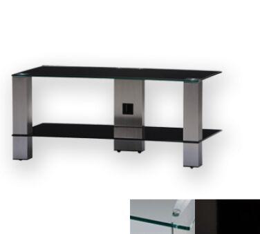 Sonorous PL3415CHBLK - Meuble pour ecran Plasma/LCD en verre et aluminium