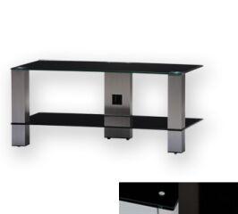Sonorous PL3415BHBLK - Meuble pour ecran Plasma/LCD en verre et aluminium