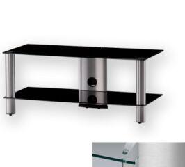 Sonorous LF6220CSLV - Meuble pour ecran Plasma/LCD en verre et aluminium