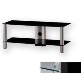 Sonorous LF6320CHBLK - Meuble pour ecran Plasma/LCD en verre et aluminium