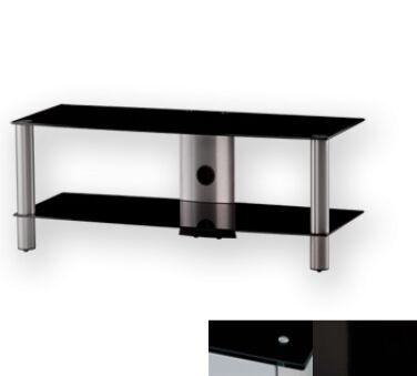 Sonorous LF6320BHBLK - Meuble pour ecran Plasma/LCD en verre et aluminium