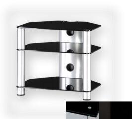Sonorous RX2130BHBLK - Meuble pour ecran Plasma/LCD en verre et aluminium