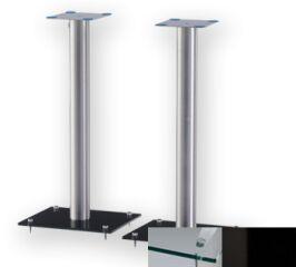 Sonorous SP100CHBLK - Meuble pour ecran Plasma/LCD en verre et aluminium