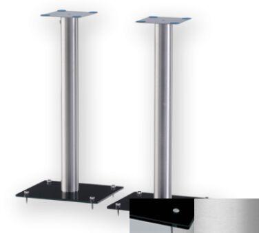 Sonorous SP100BSLV - Meuble pour ecran Plasma/LCD en verre et aluminium