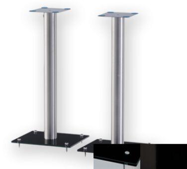 Sonorous SP100BHBLK - Meuble pour ecran Plasma/LCD en verre et aluminium