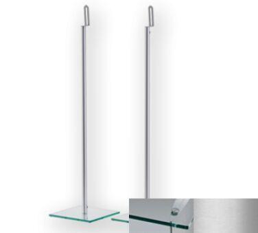 Sonorous SP200CSLV - Meuble pour ecran Plasma/LCD en verre et aluminium