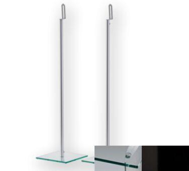 Sonorous SP200CHBLK - Meuble pour ecran Plasma/LCD en verre et aluminium