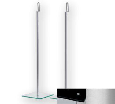 Sonorous SP200BSLV - Meuble pour ecran Plasma/LCD en verre et aluminium