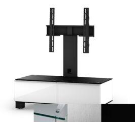 Sonorous MD8095CINXBLK - Meuble pour ecran Plasma/LCD en verre et bois