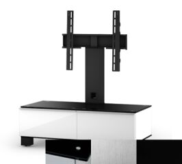 Sonorous MD8095BINXBLK - Meuble pour ecran Plasma/LCD en verre et bois