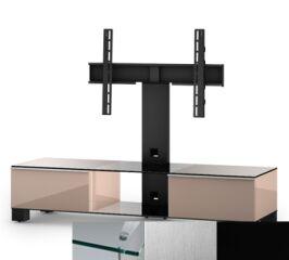 Sonorous MD8140CINXBLK - Meuble pour ecran Plasma/LCD en verre et bois