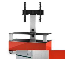 Sonorous MD8953CINXRED - Meuble pour ecran Plasma/LCD en verre et bois