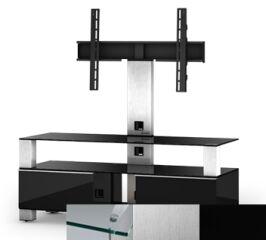 Sonorous MD8123CINXBLK - Meuble pour ecran Plasma/LCD en verre et bois