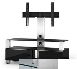 Sonorous MD8123CINXWHT - Meuble pour ecran Plasma/LCD en verre et bois