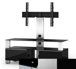 Sonorous MD8123BINXBLK - Meuble pour ecran Plasma/LCD en verre et bois