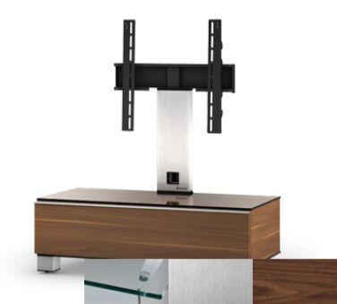 Sonorous MD8095CINXWNT - Meuble pour ecran Plasma/LCD en verre et bois