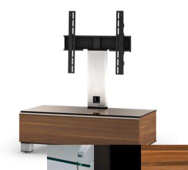 Sonorous MD8095CHBLKAPL - Meuble pour ecran Plasma/LCD en verre et bois
