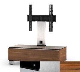 Sonorous MD8095BINXAPL - Meuble pour ecran Plasma/LCD en verre et bois