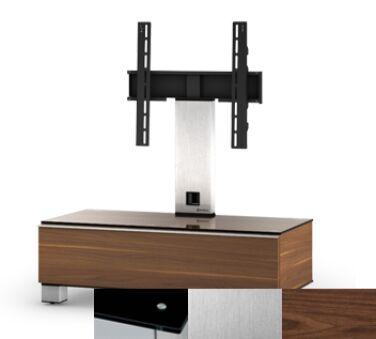 Sonorous MD8095BINXWNT - Meuble pour ecran Plasma/LCD en verre et bois