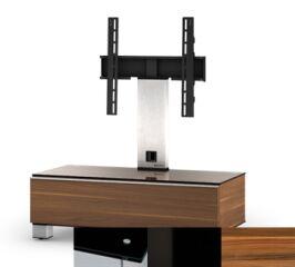 Sonorous MD8095BHBLKAPL - Meuble pour ecran Plasma/LCD en verre et bois