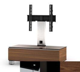 Sonorous MD8095BHBLKWNT - Meuble pour ecran Plasma/LCD en verre et bois