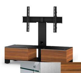 Sonorous MD8120CINXAPL - Meuble pour ecran Plasma/LCD en verre et bois