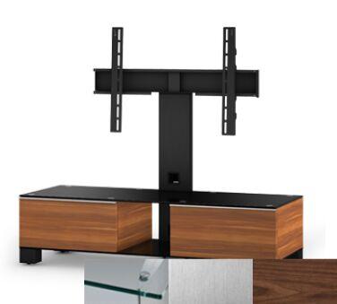 Sonorous MD8120CINXWNT - Meuble pour ecran Plasma/LCD en verre et bois