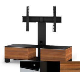 Sonorous MD8120BHBLKAPL - Meuble pour ecran Plasma/LCD en verre et bois