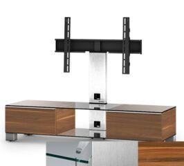 Sonorous MD8140CINXAPL - Meuble pour ecran Plasma/LCD en verre et bois
