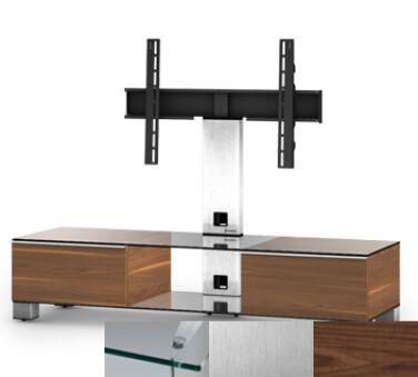 Sonorous MD8140CINXWNT - Meuble pour ecran Plasma/LCD en verre et bois