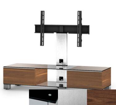Sonorous MD8140BINXWNT - Meuble pour ecran Plasma/LCD en verre et bois