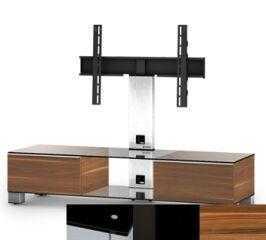 Sonorous MD8140BHBLKAPL - Meuble pour ecran Plasma/LCD en verre et bois