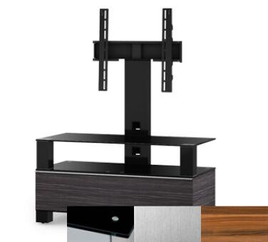 Sonorous MD8953BINXAPL - Meuble pour ecran Plasma/LCD en verre et bois