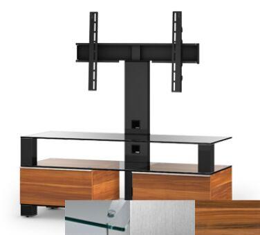 Sonorous MD8123CINXAPL - Meuble pour ecran Plasma/LCD en verre et bois