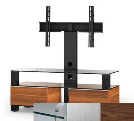 Sonorous MD8123CINXWNT - Meuble pour ecran Plasma/LCD en verre et bois