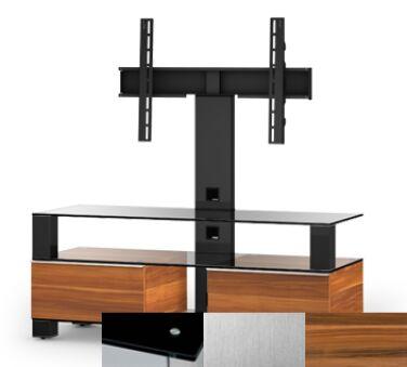 Sonorous MD8123BINXAPL - Meuble pour ecran Plasma/LCD en verre et bois