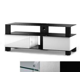Sonorous MD9120CINXBLK - Meuble pour ecran Plasma/LCD en verre et bois