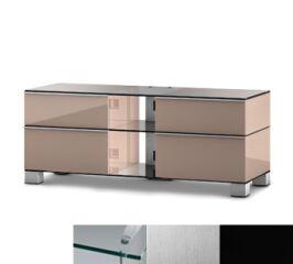 Sonorous MD9220CINXBLK - Meuble pour ecran Plasma/LCD en verre et bois