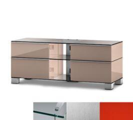 Sonorous MD9220CINXRED - Meuble pour ecran Plasma/LCD en verre et bois