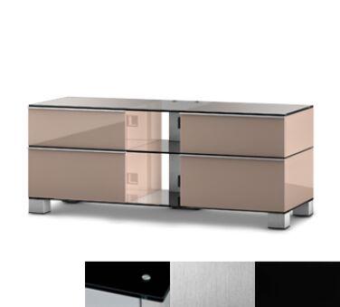 Sonorous MD9220BINXBLK - Meuble pour ecran Plasma/LCD en verre et bois