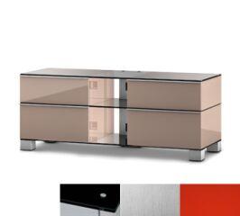 Sonorous MD9220BINXRED - Meuble pour ecran Plasma/LCD en verre et bois