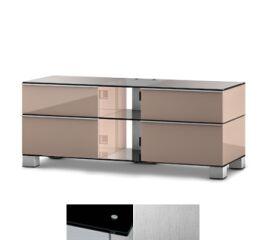 Sonorous MD9220BINXWHT - Meuble pour ecran Plasma/LCD en verre et bois