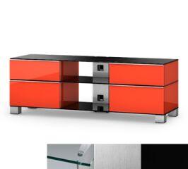 Sonorous MD9240CINXBLK - Meuble pour ecran Plasma/LCD en verre et bois