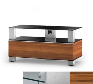 Sonorous MD9095CINXAPL - Meuble pour ecran Plasma/LCD en verre et bois