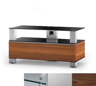 Sonorous MD9095CINXWNT - Meuble pour ecran Plasma/LCD en verre et bois