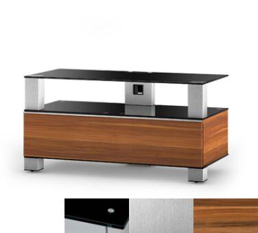 Sonorous MD9095BINXAPL - Meuble pour ecran Plasma/LCD en verre et bois