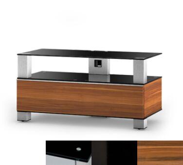 Sonorous MD9095BHBLKAPL - Meuble pour ecran Plasma/LCD en verre et bois